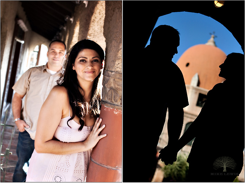 Mike Lewis Photography, Engagement, Mission Inn