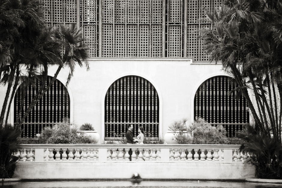 Balboa Park, San Diego. Mike Lewis, Wedding Photographer